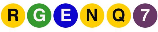 subway symbols